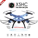 X5HC Remote Control Flying Drone With 2MP HD Camera - Freedom Travel Gear