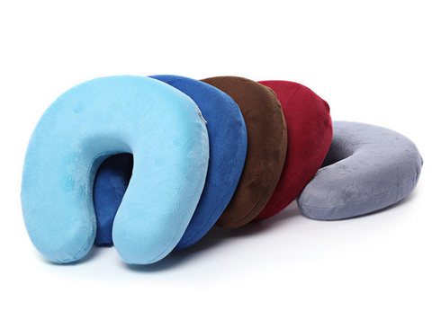 U-Shaped Memory Foam Travel Neck Pillow
