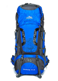 80L Large Outdoor Nylon Waterproof Backpack - Freedom Travel Gear