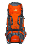 80L Large Outdoor Nylon Waterproof Backpack