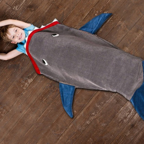 Kids Shark Blanket