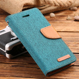 NEW Trendy PU Leather iPhone 5/5s 6/6s 6+ 7/7+ Wallet Flip Case - Freedom Travel Gear