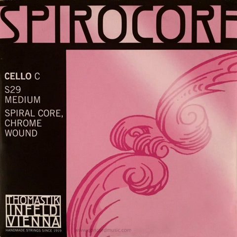 Spirocore Cello String (C and G only)