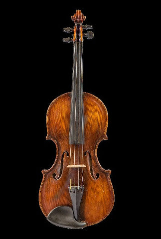 CIVIL WAR ERA VIOLIN WITH DEEP RICH TONE (1800 - 1900)
