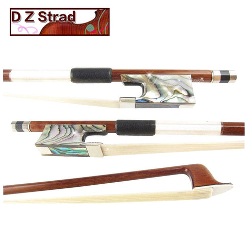 D Z Strad Pernambuco Violin Bow Model 701 with Abalone Frog Full Size 4/4 (4/4 - Size)