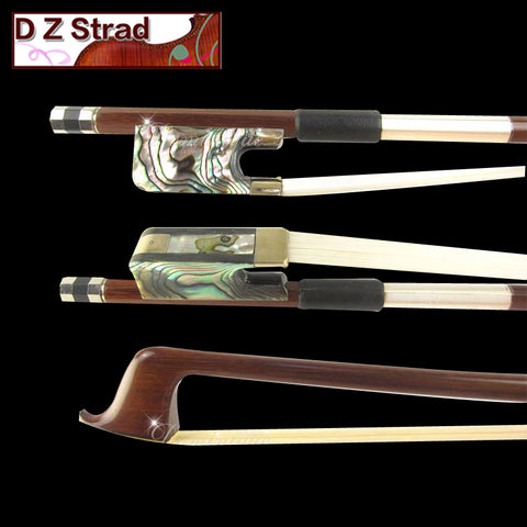 DCB Brazilwood Bow with Abalone Frog
