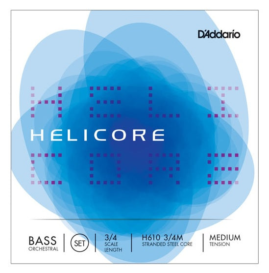 Helicore Bass Strings (Full Set)