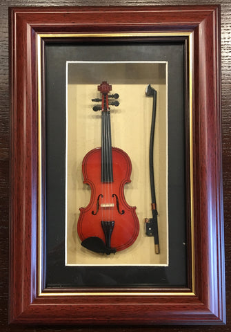 Violin Picture Frame
