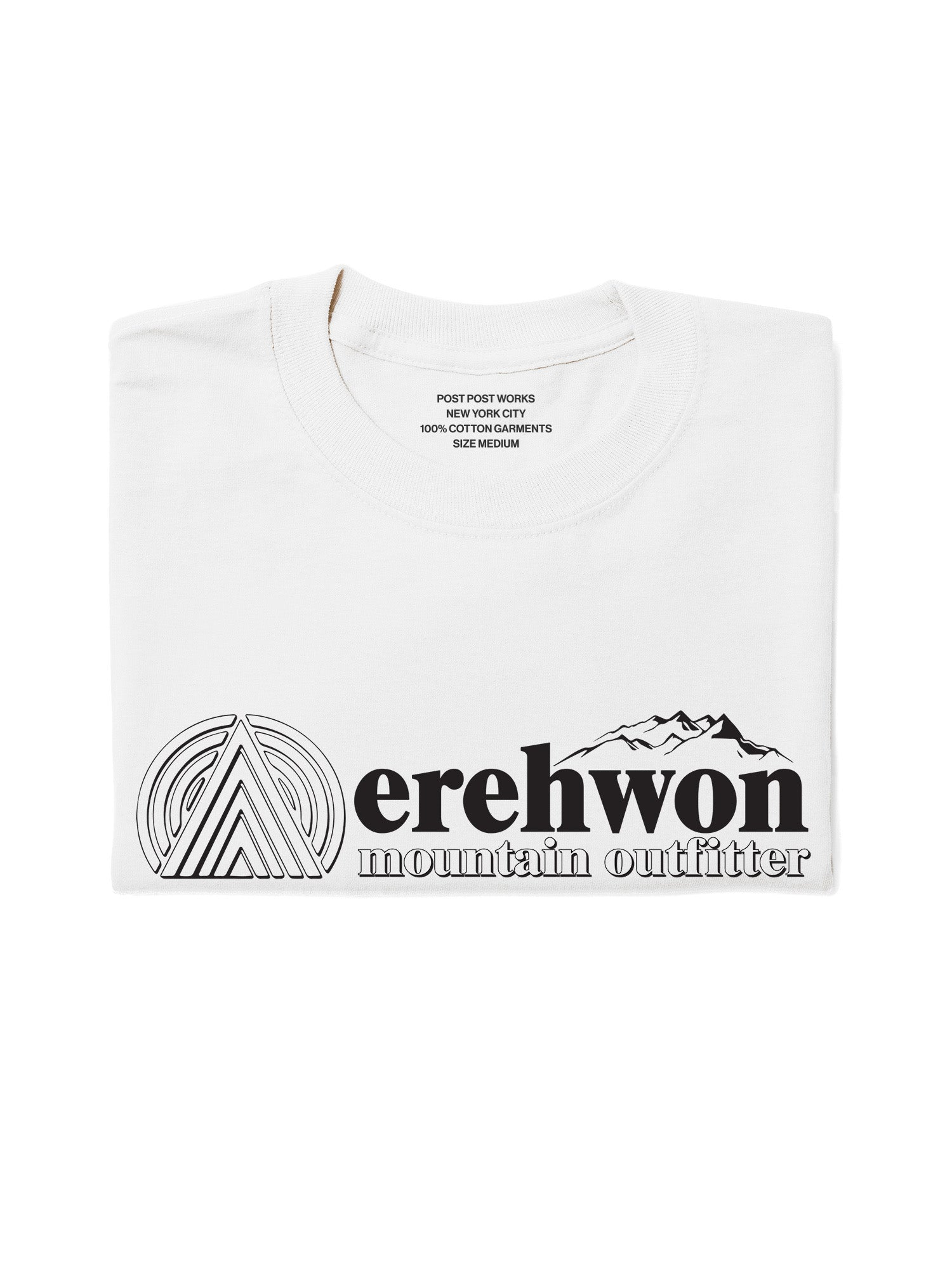 The Original Erehwon Bootleg Tee, White