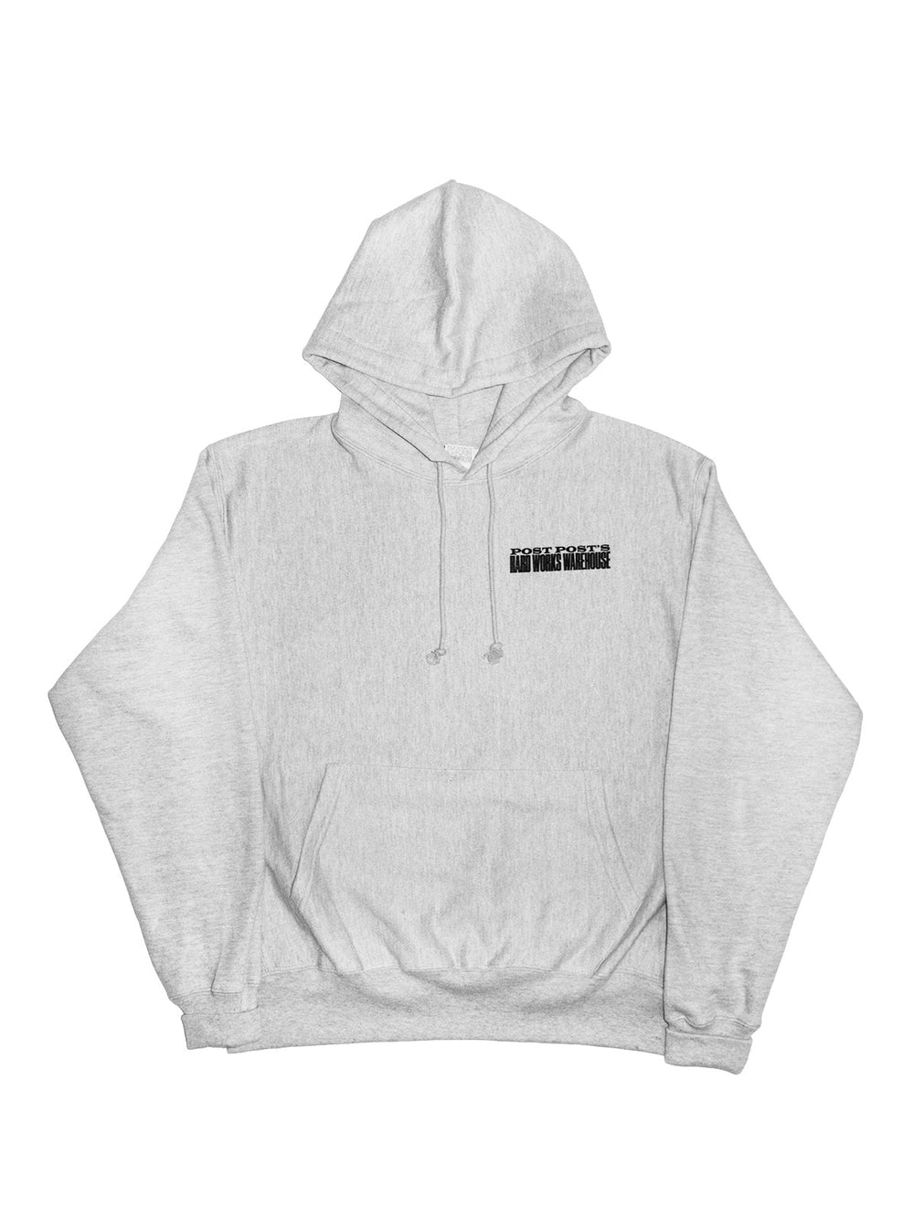 Hard Works Warehouse Reverse Weave Hoodie, Oxford Gray