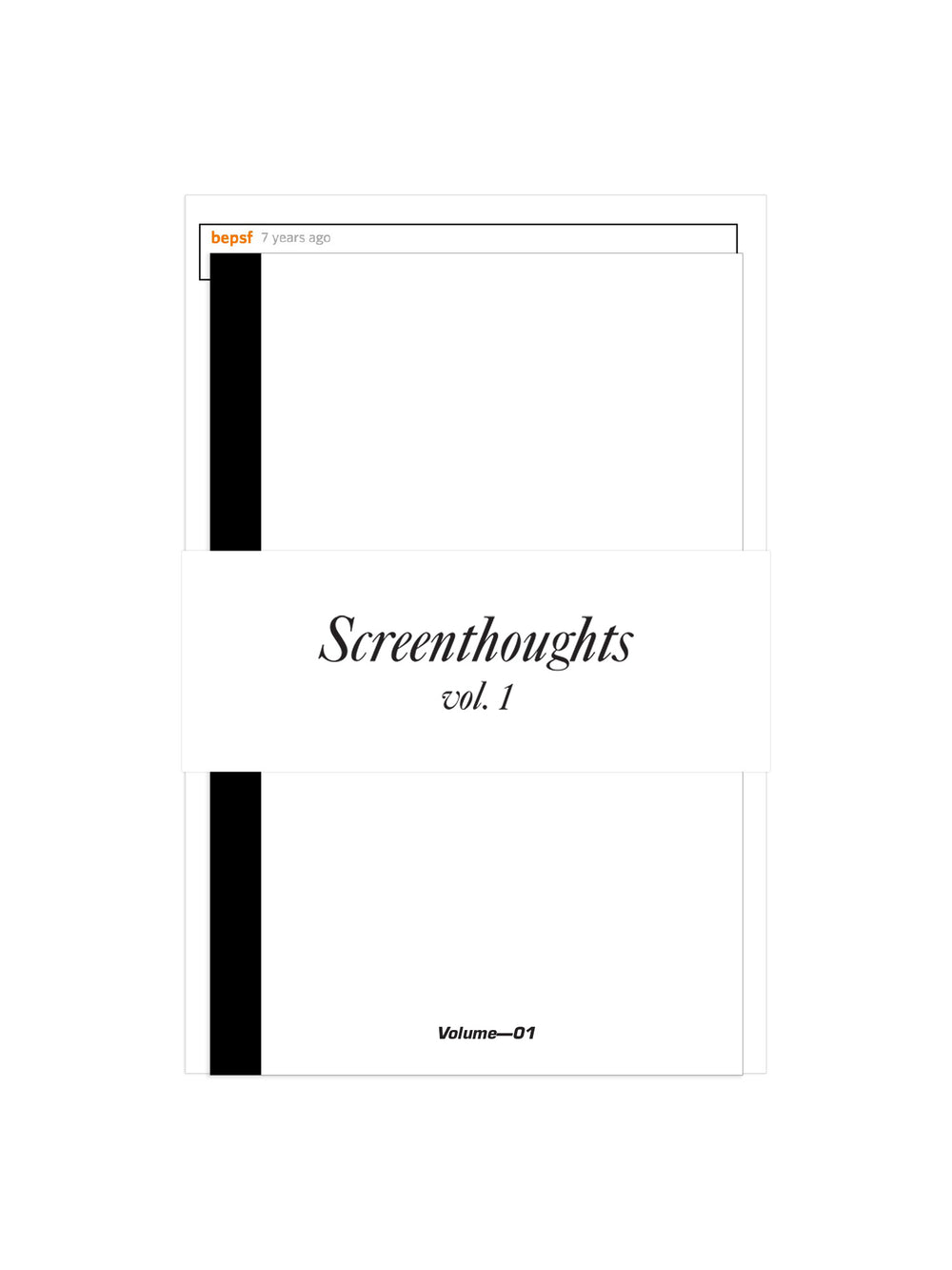 Screenthoughts, Volume 1