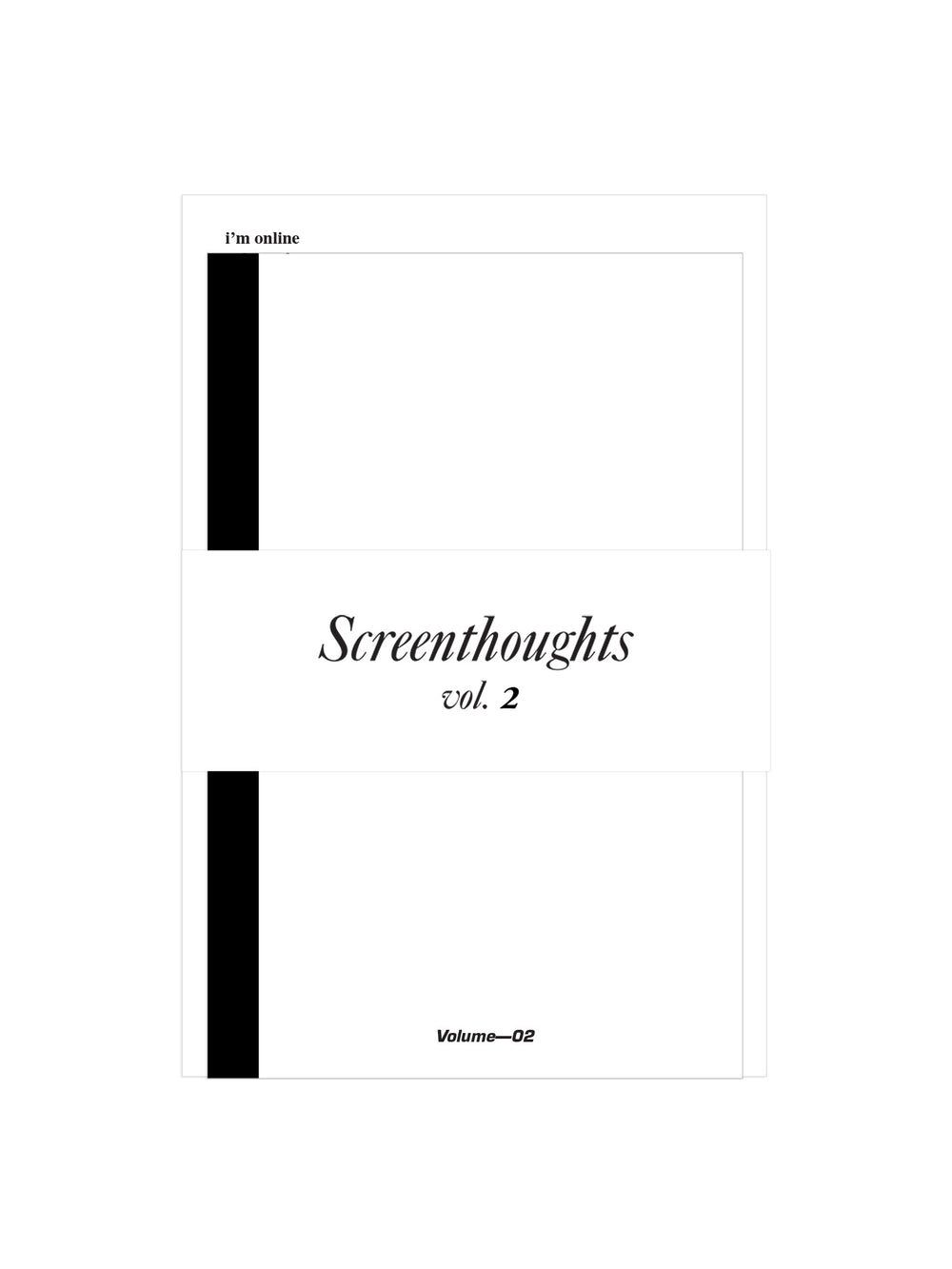 Screenthoughts, Volume 2