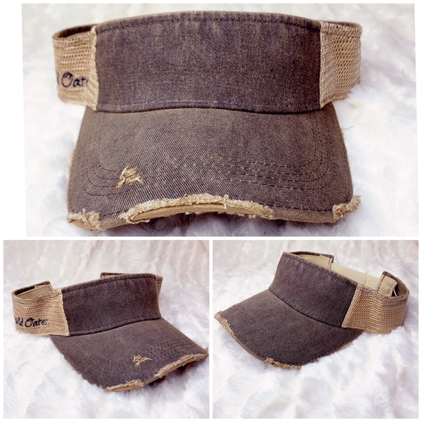 Distressed Visors | Choose Your Design & Color