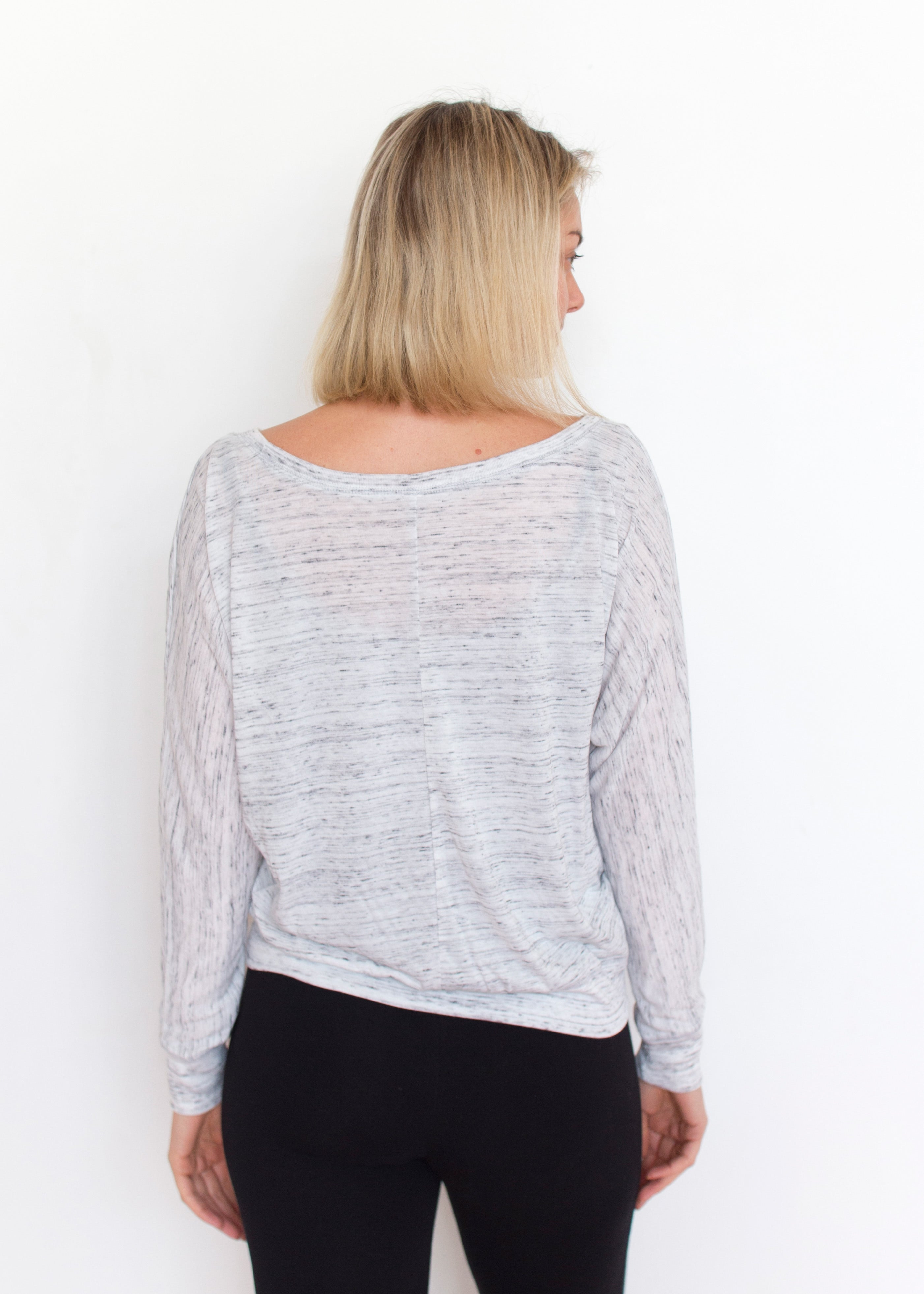 Calm your Chakras - Off Shoulder Long Sleeve