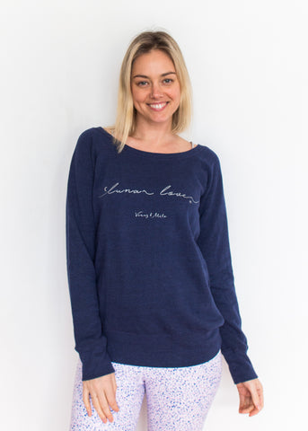Lunar Lover - Navy Sweatshirt
