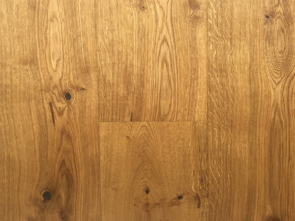 Mekong Sand Blast Brushed Natural Oiled Oak Engineered Flooring, £39.33m2 - Shropshire Oak Wood F...