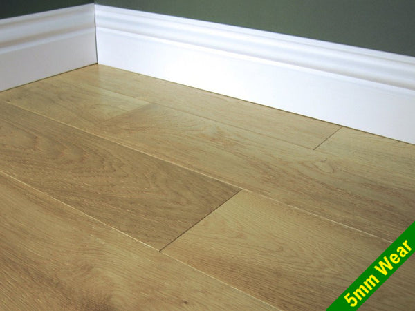 Engineered Brushed & Lacquered Oak Flooring, £43.45m2 - Shropshire Oak Wood Floor Sales & Accesso...