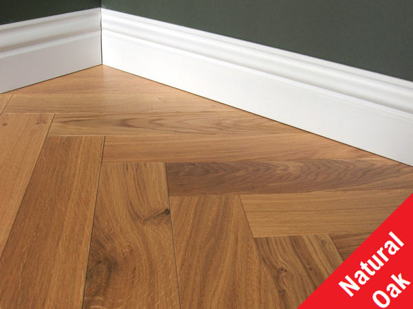Engineered Lacquered Herringbone Oak Flooring, £42.60m2 - Shropshire Oak Wood Floor Sales & Acces...