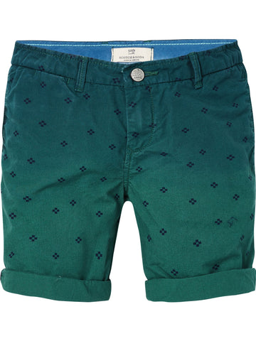 S18 SCOTCH SHRUNK - Lightweight Poplin Shorts Washed Green