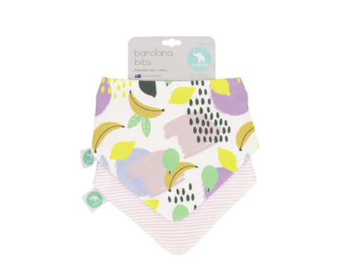 ALL4ELLA | Bandana Bibs 2pk - Fruit