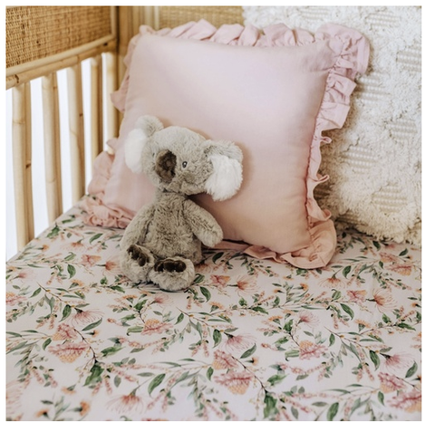 SNUGGLE HUNNY | Wattle Fitted Cot Sheet