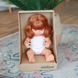 Anatomically Correct Caucasion Red Head Girl 38cm