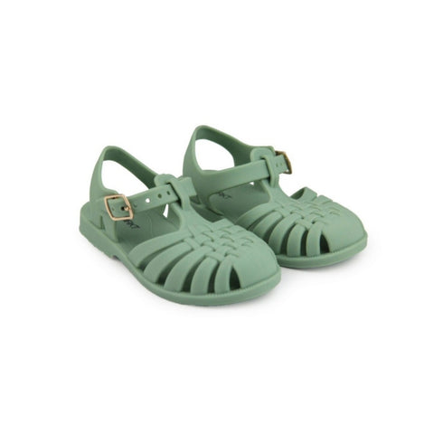 MINIMRKT | Classic Jelly Sandal Sea Green