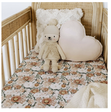 SNUGGLE HUNNY | Florence Fitted Cot Sheet