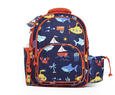 PENNY SCALLAN |  Large Backpack - Anchors  Away