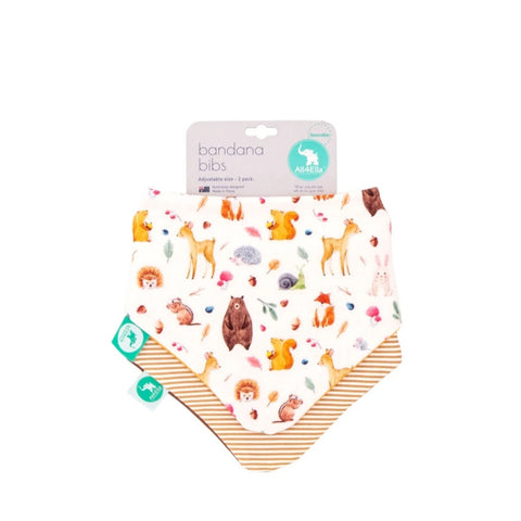 ALL4ELLA | Bandana Bibs Forest