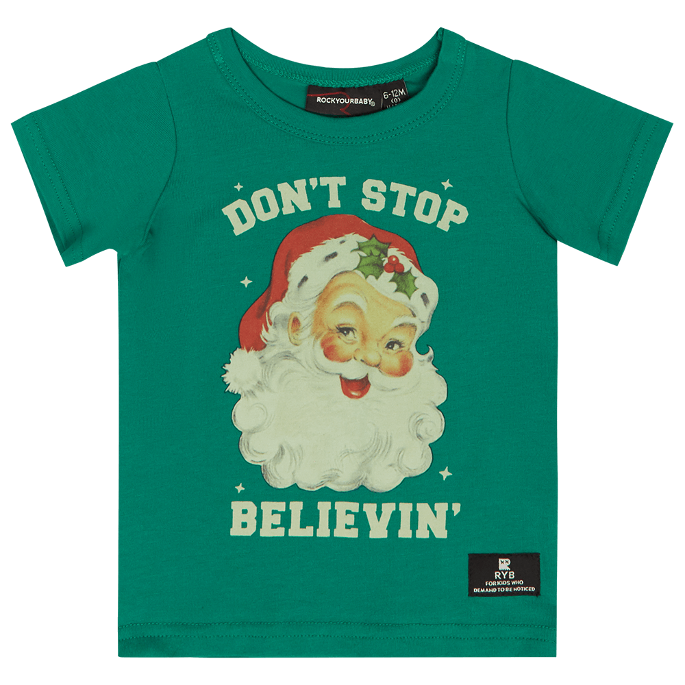 ROCK YOUR BABY | Baby T-Shirt - Don't Stop Believin'