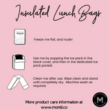 MONTII | Lunch Bag Boho Palms