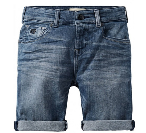 S18 SCOTCH SHRUNK - Strummer Denim ShortCloudy Day