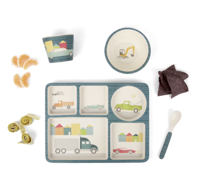 LOVE MAE - Bamboo 5 pc set Cars (3886751875132)