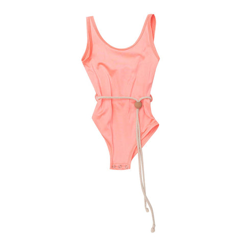 BELLA + LACE S19 DROP 2 | Kylie Leotard Lava Pink (4136707817532)