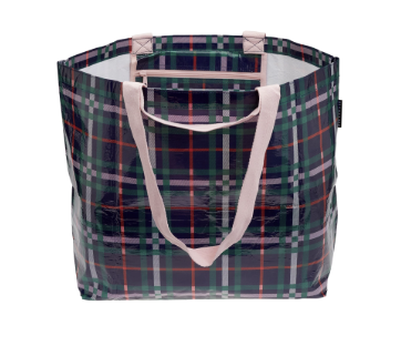 PROJECT TEN | Medium Tote Plaid (4135320584252)