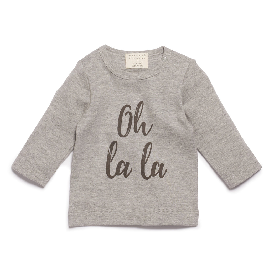 WILSON & FRENCHY  Oh La La Long Sleeve Top (10043003470)