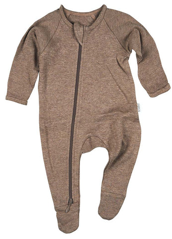 TOSHI | Organic Onesie Long Sleeve - Dreamtime Cocoa