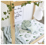 SNUGGLE HUNNY  | Enchanted Fitted Cot Sheet