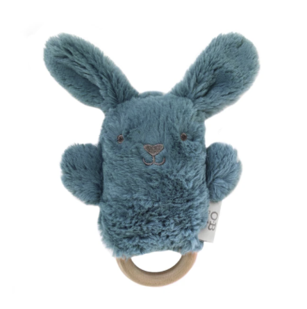 OB DESIGNS | Banjo Bunny Wooden Teether