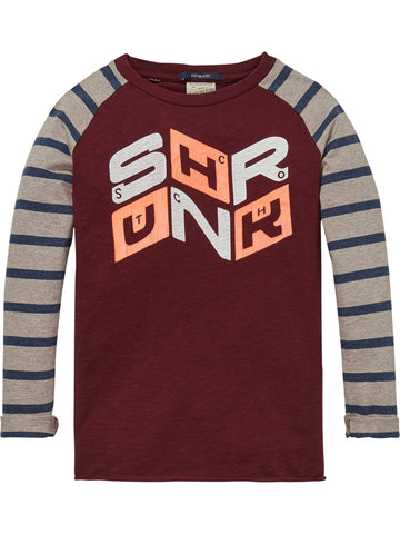 Scotch Shrunk - Colour Block Raglan Tee (168992276494)