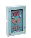 Butterflies Embroidered Jewels set