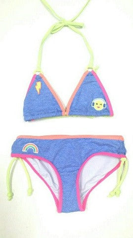 SEAFOLLY KIDS - Neon Pop Trikini (8136494019)