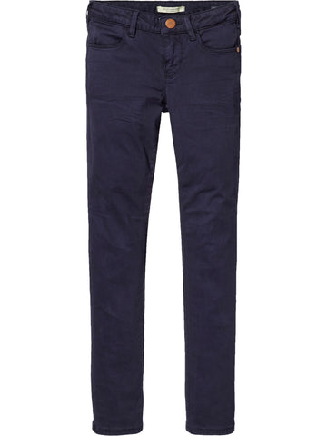 Scotch Rbelle - Skinny 5 pocket Pant Navy