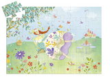 The Princess Of Spring Silhouette Puzzle