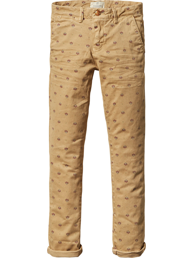 SCOTCH SHRUNK   Slim Fit Washed Chino Pant 101074 (9978672206)