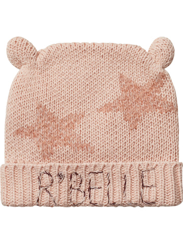 SCOTCH RBELLE  Powder Pin Beanie with Ears