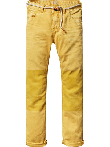SCOTCH SHRUNK - Relaxed Slim Fit Worker Pants 101079