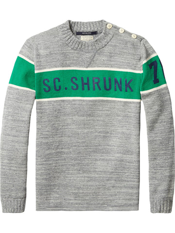 SCOTCH SHRUNK   Sporty Crew Neck Tee