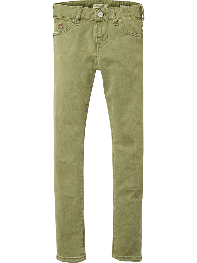 SCOTCH SHRUNK - Military Green Strummer Pant 134532 (19765231630)